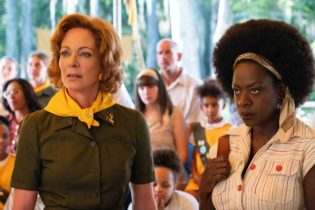 Allison Janney and Viola Davis star in