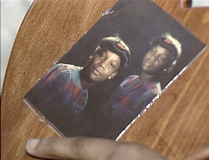 A picture of teenager Latasha Harlins, who was killed in South L.A. in 1991.