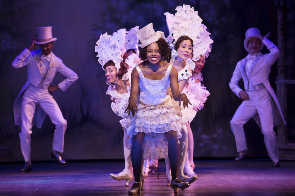 """Adrienne Warren and company perform """"I'm Just Wild About Harry"""" in"""
