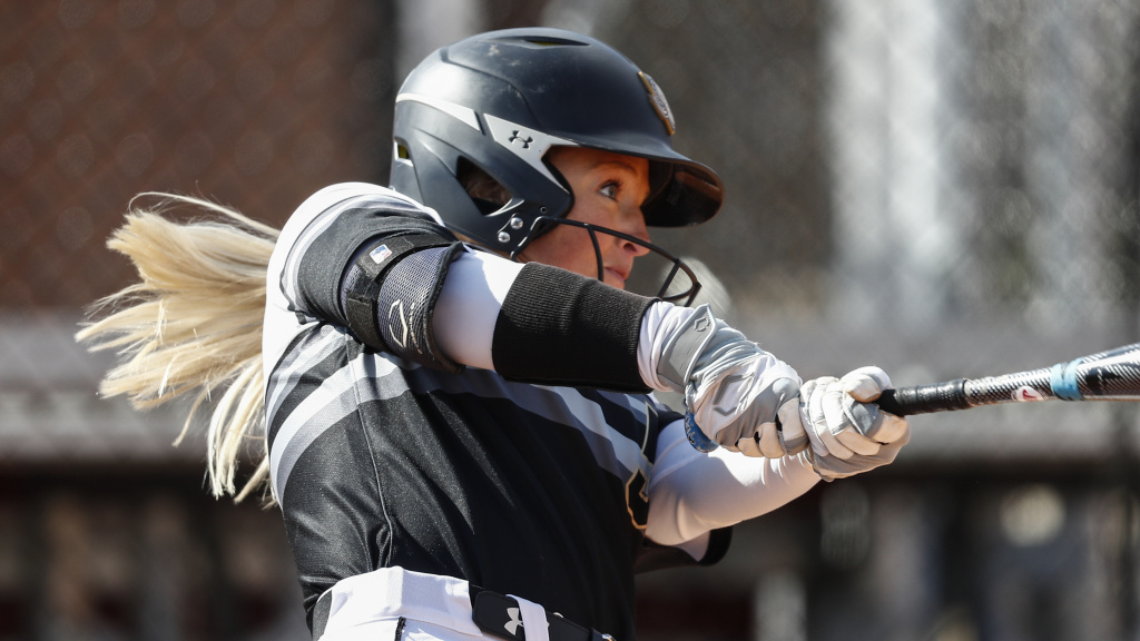 Athletes who play NCAA spring sports whose seasons were truncated by the coronavirus outbreak will be eligible for another season. This photo shows Purdue Fort Wayne's Rachel Everson playing softball in March.