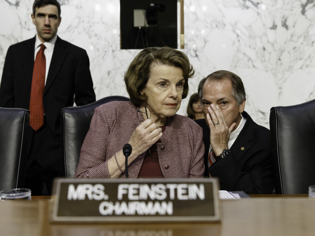 Senate Intelligence Committee Chair Sen. Dianne Feinstein, D-Calif., questioned whether phone companies would retain calling data.