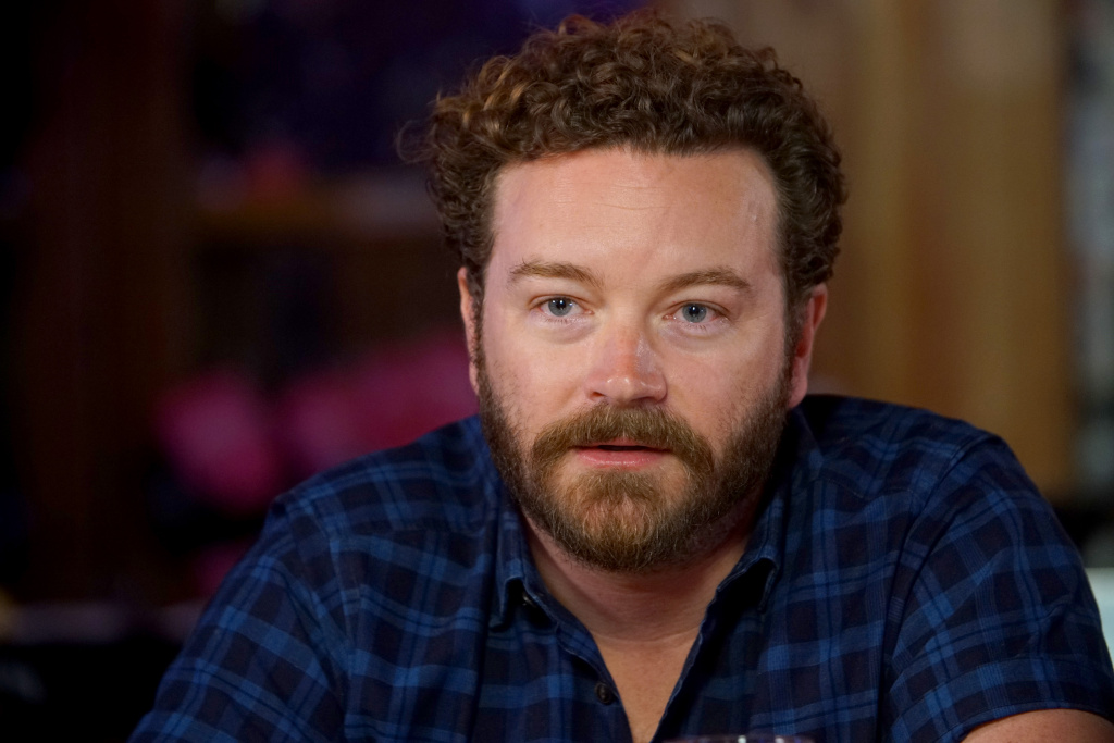 Danny Masterson speaks during a Launch Event for Netflix