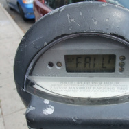 Los Angeles parking meter malfunction
