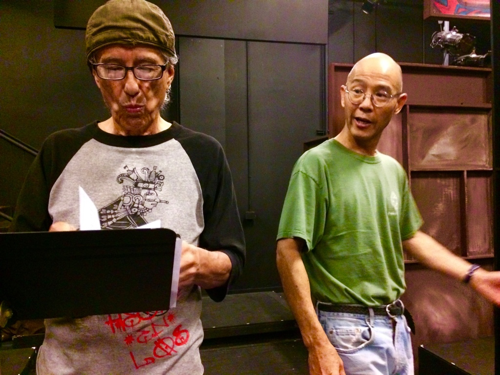 Performer Rubén Guevara, left, and director Dan Kwong have collaborated on many arts projects.