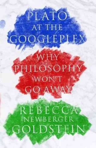 Cover art for Rebecca Newberger Goldstein's new book,