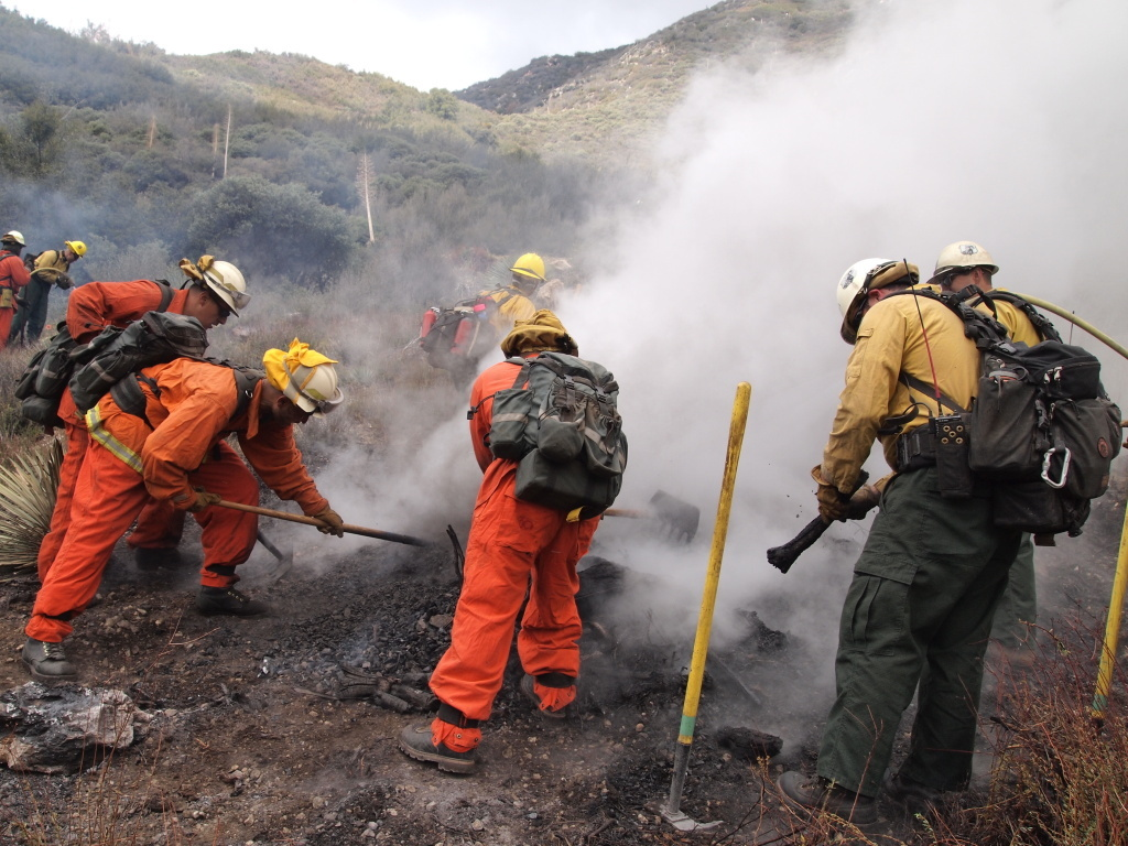 California's intense drought has increased the risk of wildfire, and also made it more difficult for fire crews to safely conduct controlled burns.