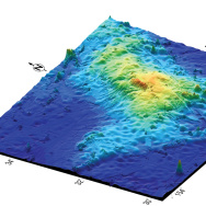 Tamu Massif 3D map