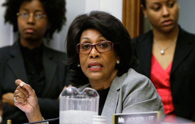 U.S. Representative Maxine Waters, under investigation for alleged ethics violations.