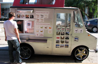 The city of Long Beach wants ice cream trucks to turn off their music when serving customers. Ice cream truck operators say the music helps attract customers.