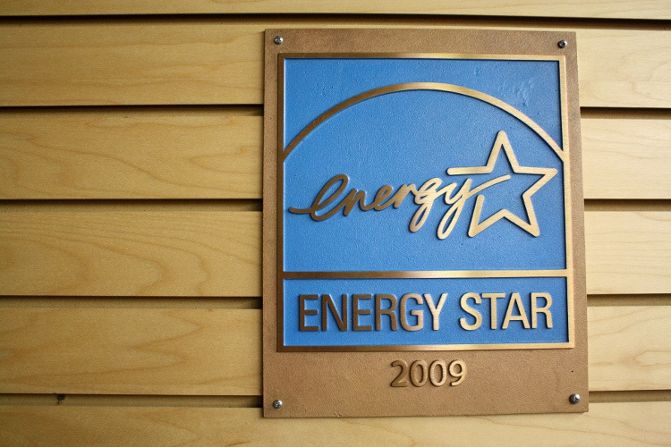 Energy Star plaque