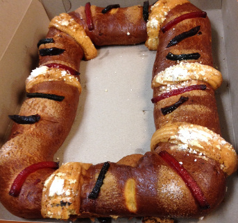 Thirty individuals got sick after eating a rosca de reyes, a Mexican sweet bread, from a Santa Ana bakery.
