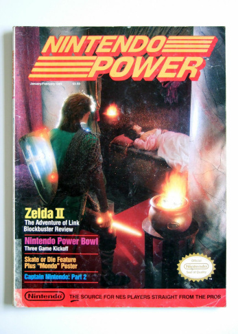 The very first issue of Nintendo Power magazine.