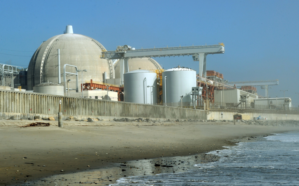 View of the San Onofre Nuclear Power Plant in north San Diego County  The San Onofre Nuclear Power Plant sits at the edge of the Pacific Ocean on a  84-acre site between San Diego and Orange County and provides much of Southern California its power.