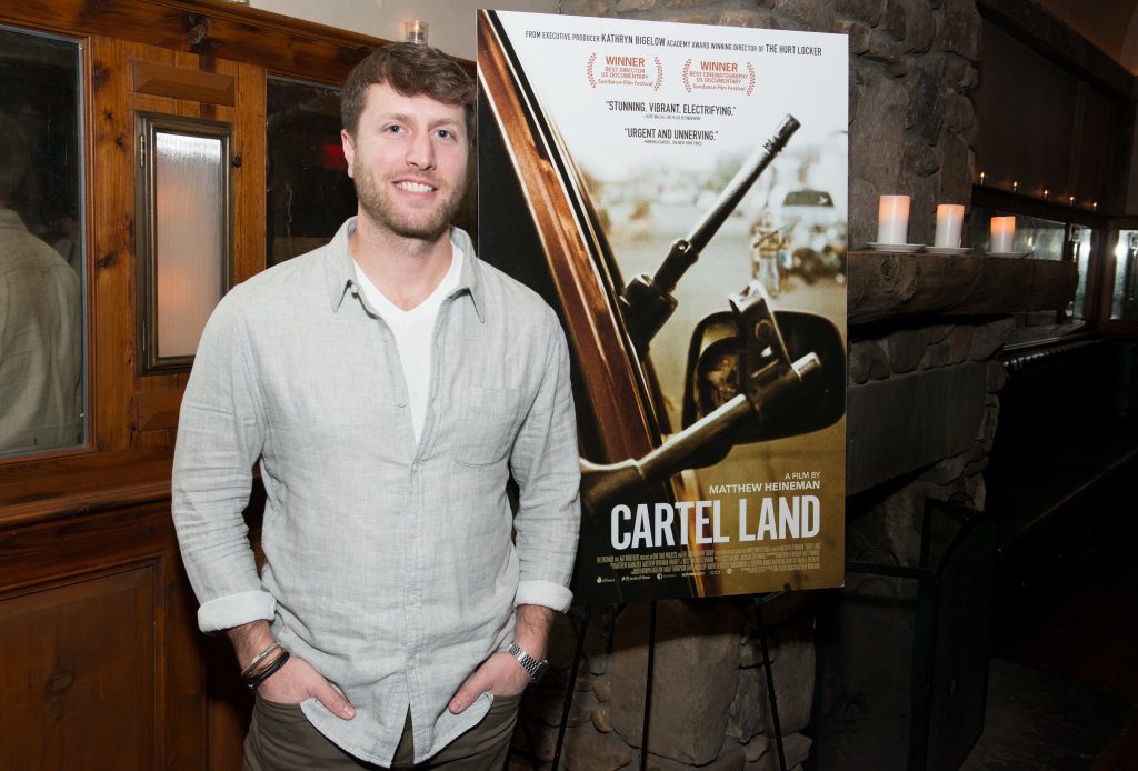 Director/Producer Matthew Heineman attends a dinner hosted by Jake Gyllenhaal and John Lesher to honor