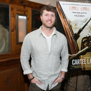 "Director/Producer Matthew Heineman attends a dinner hosted by Jake Gyllenhaal and John Lesher to honor ""Cartel Land."""