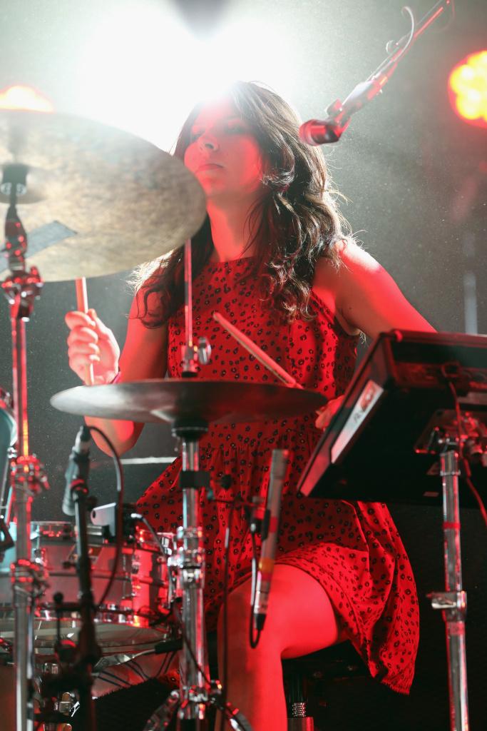 The Frame | Warpaint drummer Stella Mozgawa's rock ...  The Frame | War...