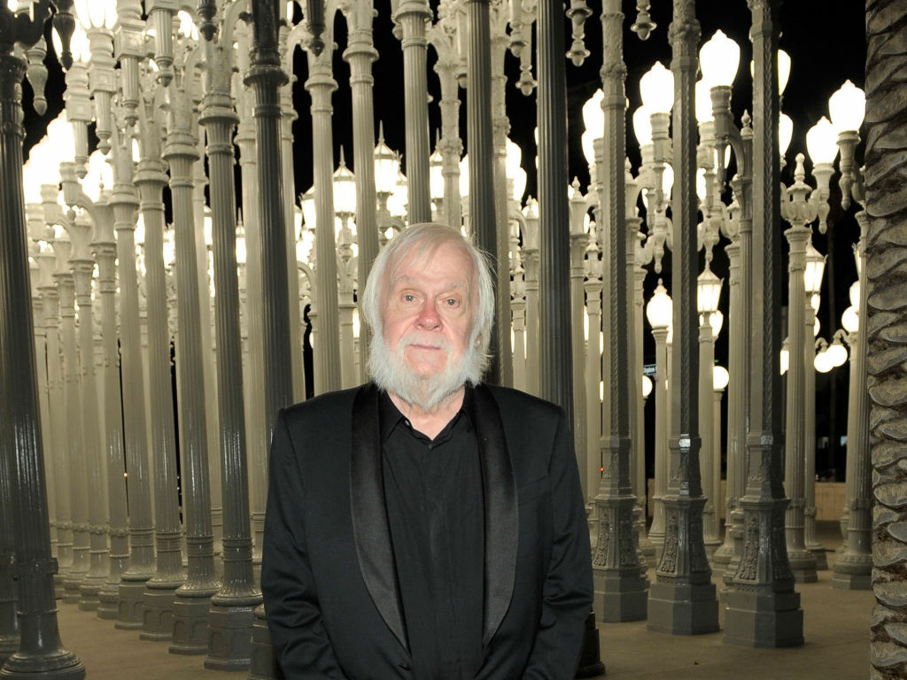 Artist and honoree John Baldessari attends LACMA Art + Film Gala Honoring Clint Eastwood and John Baldessari Presented By Gucci at Los Angeles County Museum of Art on November 5, 2011 in Los Angeles, California.