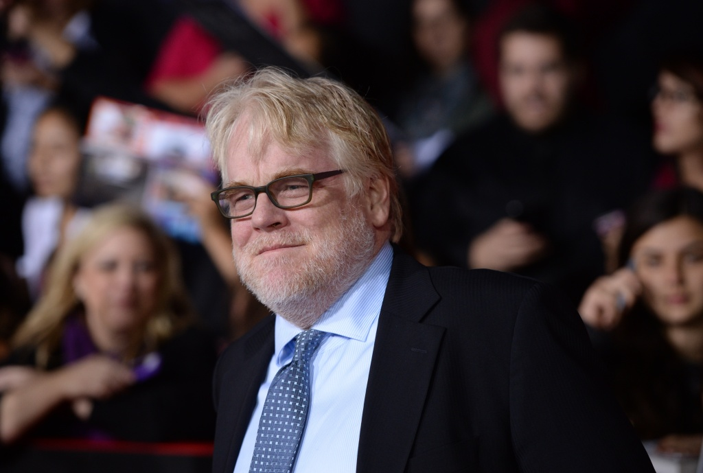 American actor Philip Seymour Hoffman.