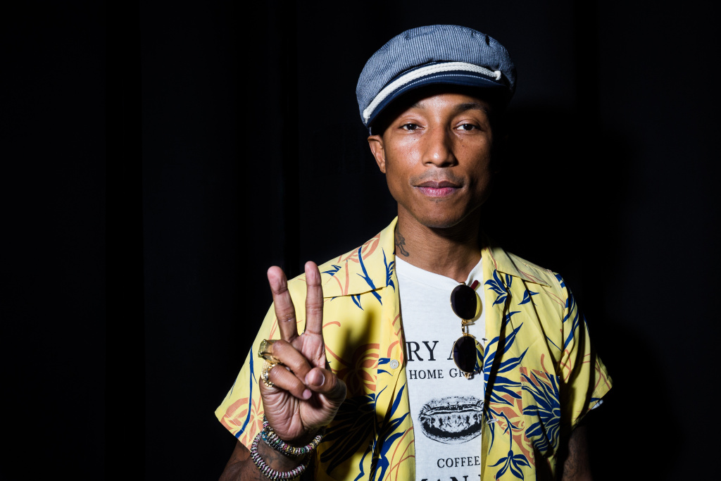 Pharrell Williams is a music producer, pop artist, and a producer of the film