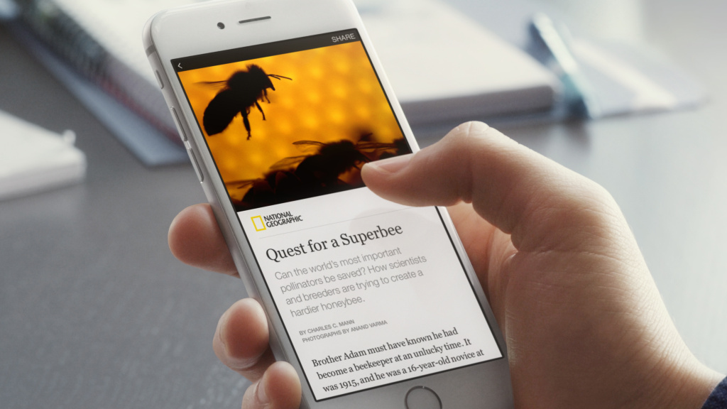 Nine media organizations, including <em>The New York Times</em> and <em>National Geographic</em>, have signed a deal to distribute their content through a new Facebook feature called