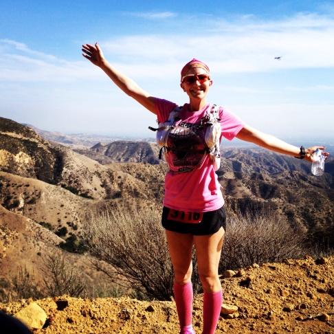36-year-old Alison Chavez, triathlete and breast cancer survivor.