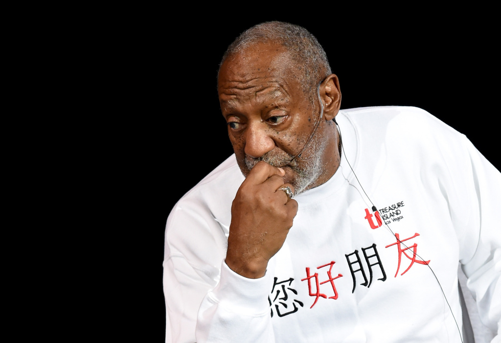 Comedian/actor Bill Cosby performs at the Treasure Island Hotel & Casino in this file photo taken on September 26, 2014 in Las Vegas, Nevada.