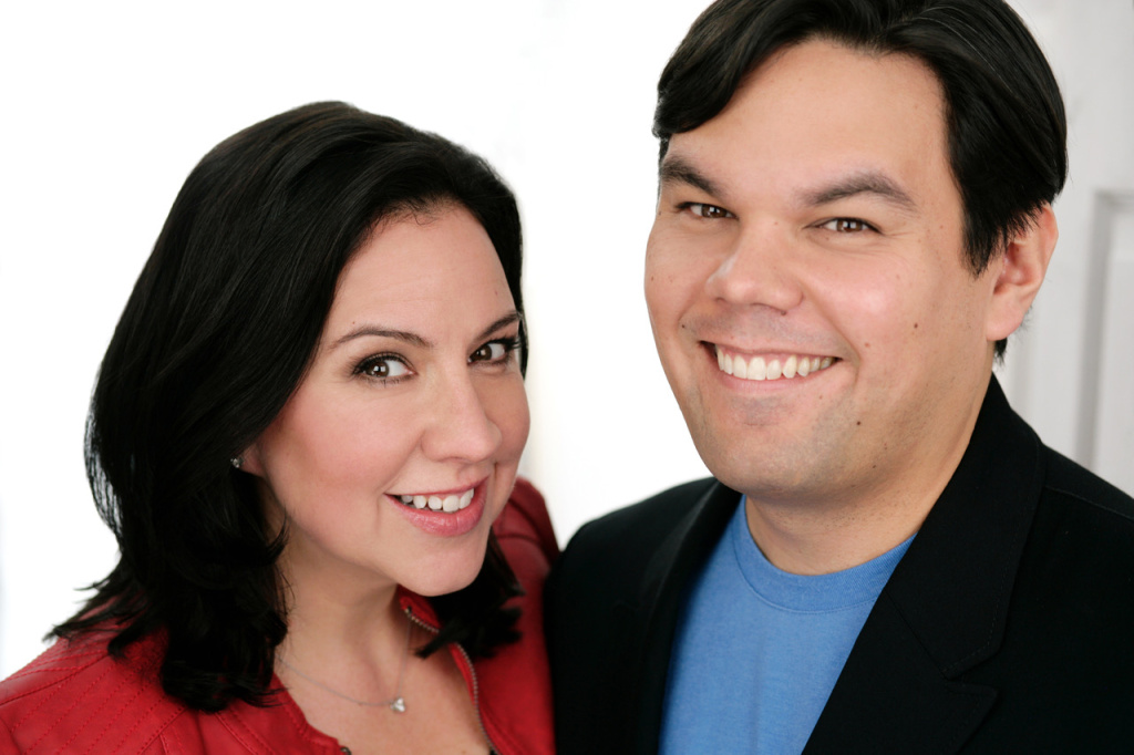 Kristin Anderson-Lopez and Robert Lopez are the Oscar-nominated songwriters behind