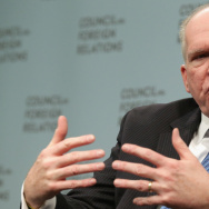 Central Intelligence Agency Director John Brennan takes questions after addressing the Council on Foreign Relations on March 11. The CIA has proposed deleting the email of almost all employees after they leave the agency. But some critics are saying a lar