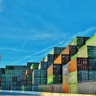 shipping containers port of los angeles