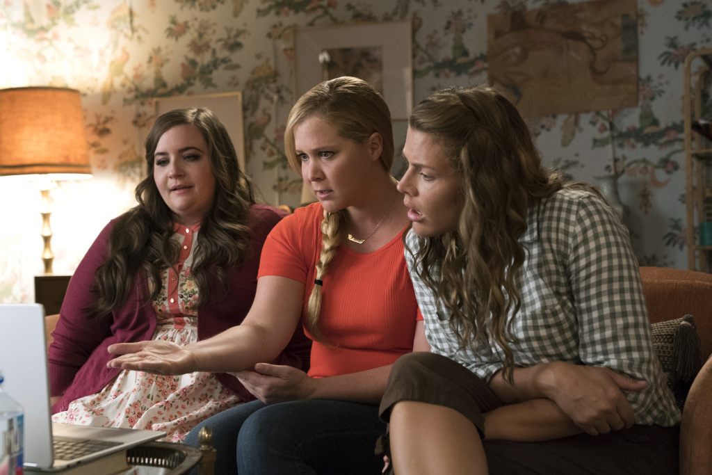 Aidy Bryant, Amy Schumer, and Busy Phillips star in I FEEL PRETTY