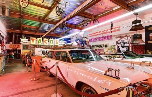 A portion of the overstuffed collection you can find at the Valley Relics Museum
