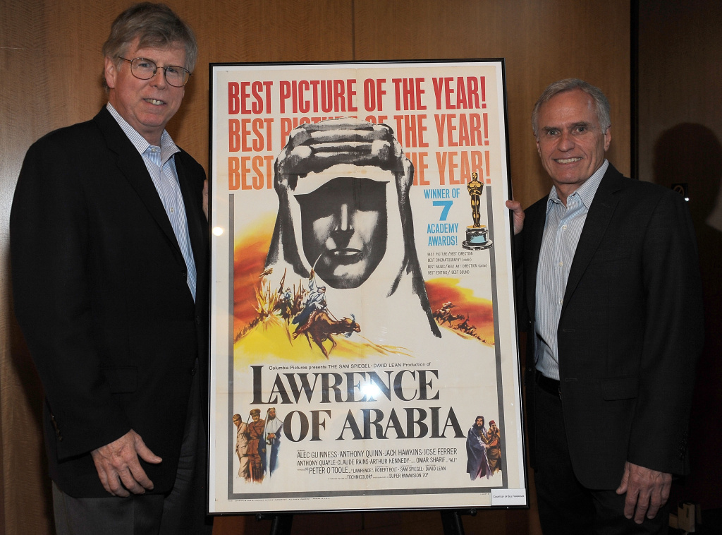 BEVERLY HILLS, CA - JULY 19: Chris Cookson (L)  and Grover Crisp (R) attend Academy Of Motion Picture Arts And Sciences Presents The 50th Anniversary 4K Digital Restoration Of