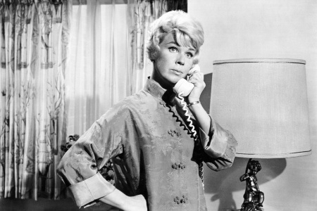 Doris Day in Pillow Talk, 1959. From Everett Collection.
