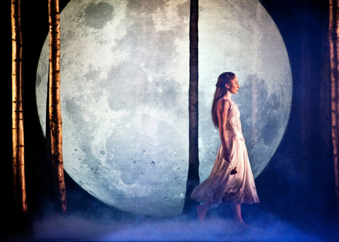 """Hannah Vassallo in """"Matthew Bourne's Sleeping Beauty"""" (London)."""