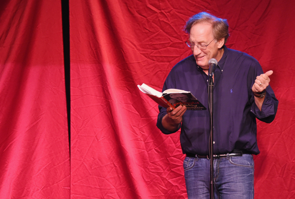 Actor/comedian Alan Zweibel takes part in Celebrity Autobiography at Stage 72 on August 17, 2015 in New York City