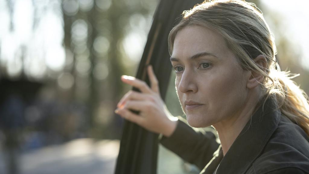 Kate Winslet as Mare on <em>Mare of Easttown</em>.