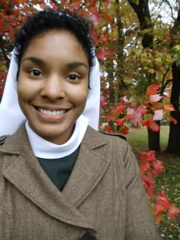 Sister Desire Anne Marie Findlay, 26, will take her first temporary vows in August.