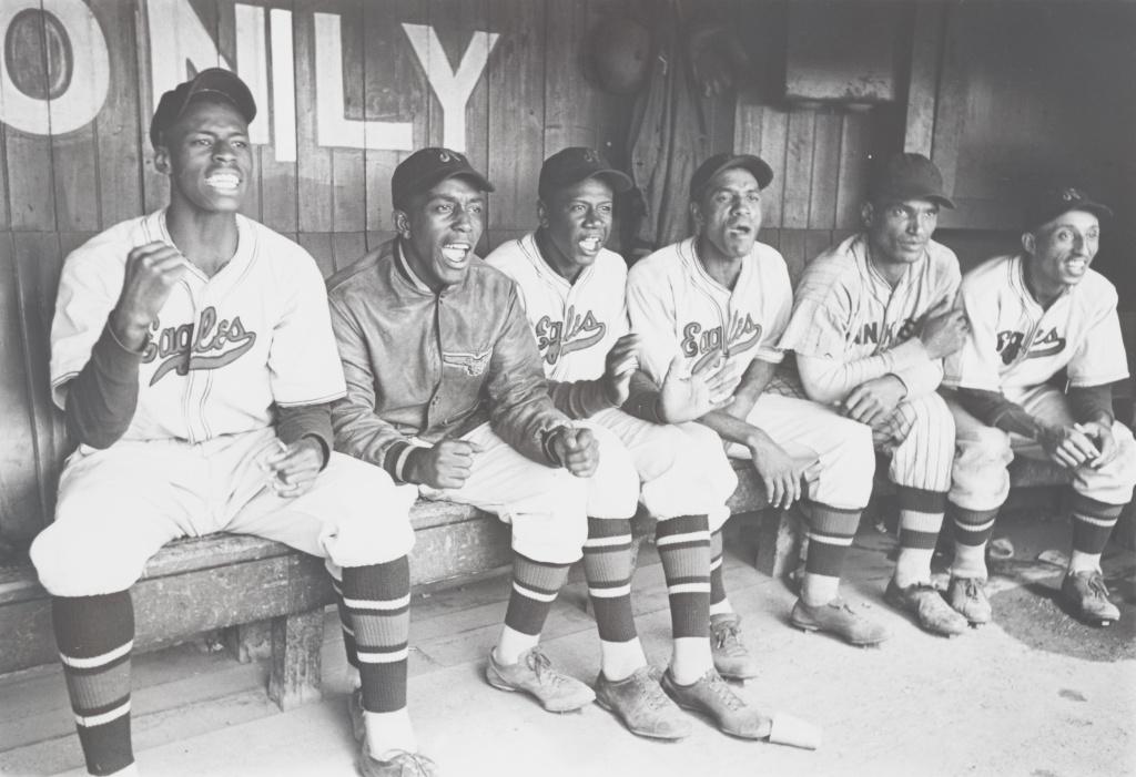 Negro league baseball team Newark Eagles.