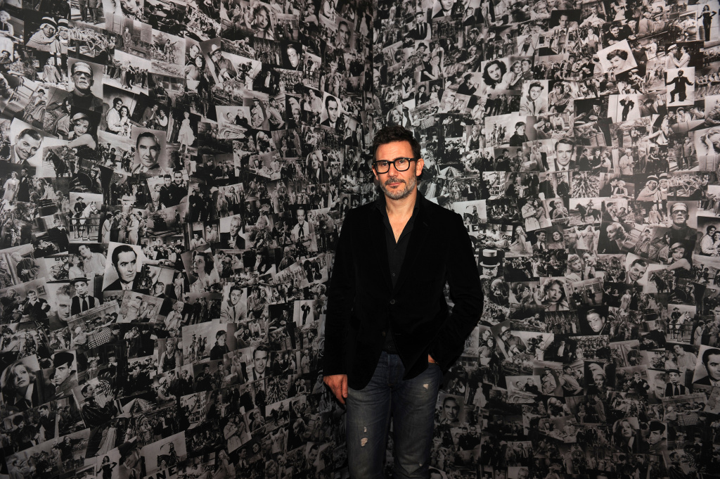 French film director Michel Hazanavicius poses during the photocall of