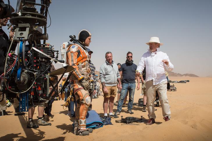 Matt Damon stars as astronaut Mark Watney in