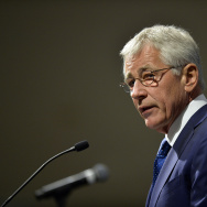 Secretary Of Defense Chuck Hagel Speaks About Country's Transition Out Of 13 Years Of War