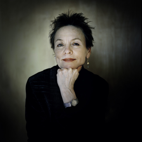 A still from Laurie Anderson's