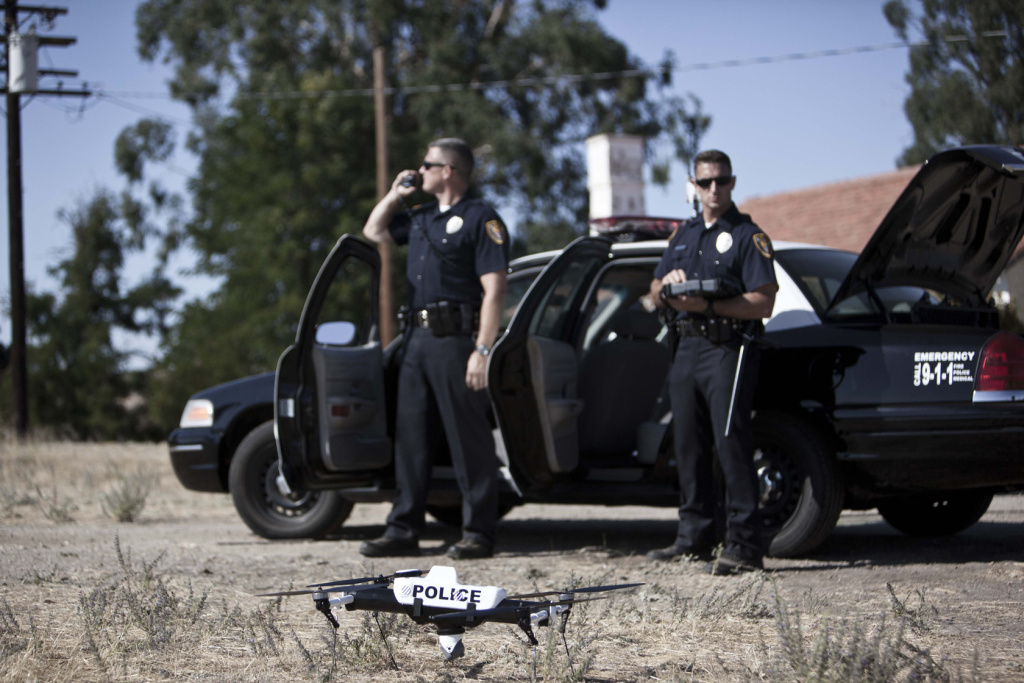 AeroVironment makes small drones law enforcement agencies can use. The Federal Aviation Administration has announced more guidelines on how police departments are allowed to use drones.