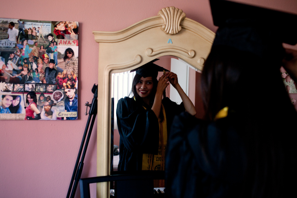 Ana Venegas' parents brought her to the states from Guadalajara, Mexico when she was ten-months old. This Saturday she will graduate from Cal State L.A. with a degree in Sociology.