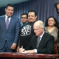 Brown signs bill for mandatory paid sick leave