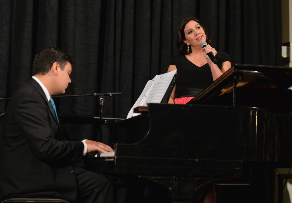 Songwriters Kristen Anderson-Lopez and Robert Lopez were honorees at the 2015 Los Angeles Children's Chorus' Annual Gala.