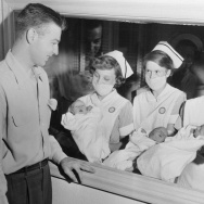 Until the 1970s, most U.S. hospitals did not allow fathers into the delivery room for the birth of a child, or children.