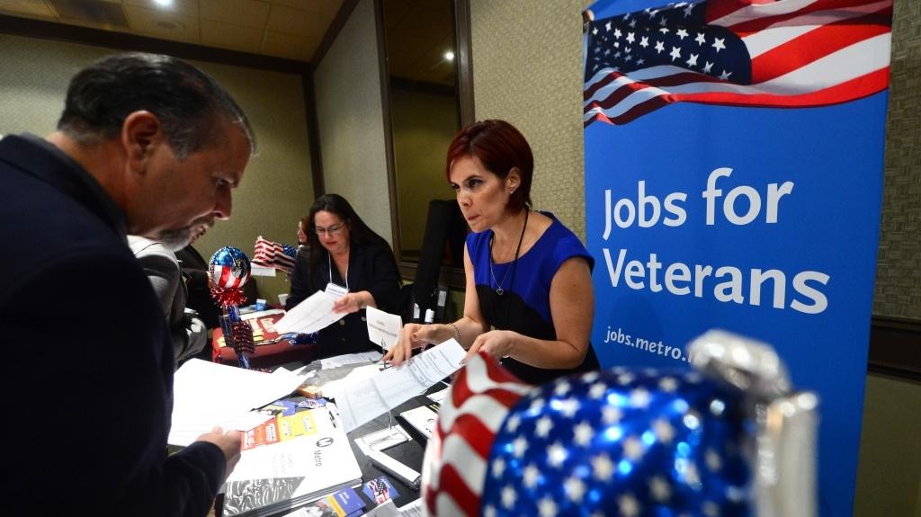 The scene at a job fair last fall in Van Nuys, Calif.