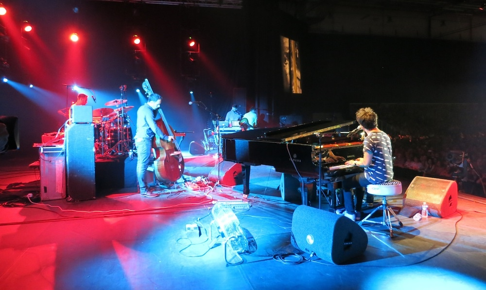 Jamie Cullum performs at the North Sea Jazz Festival in Holland.