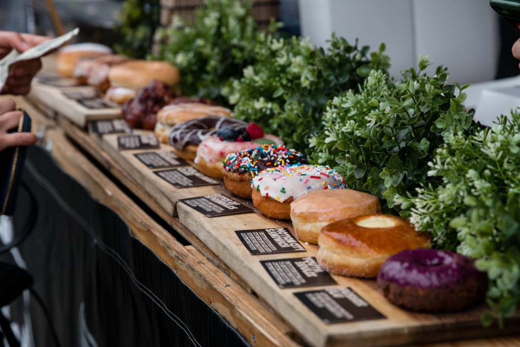 Donut Friend is one of many vendors at Smorgasburg LA.